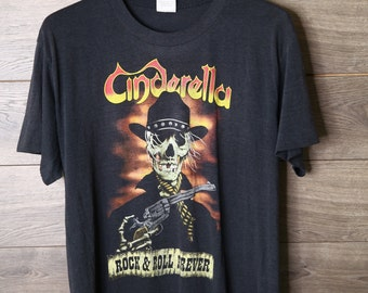 Cinderella Rock n Roll Forever vintage tee