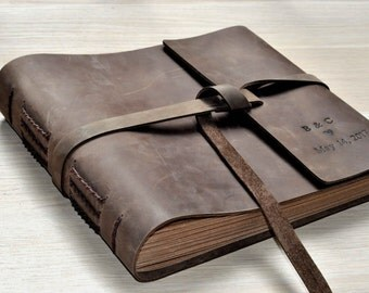 Wedding Guest Book Wedding Guestbook Custom Guest Book Personalized Customized design wedding gift keepsake rustic Custom any size