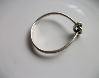 Danish Sterling Silver Knotted Bracelet