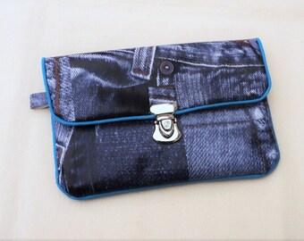 """Door pocket currency with rabat """"Jeans"""""""