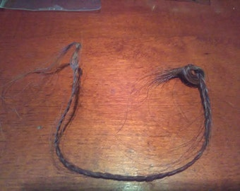 Brown Horse Hair Braid