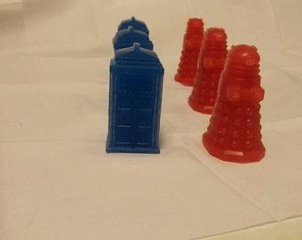 Tardis and Dalek soaps