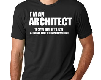 Architect T-Shirt Gift For Architect Profession Occupation Tee Shirt