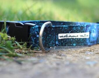 Laika - Galaxy Dog collar