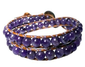 Bracelet classic Amethyst 382