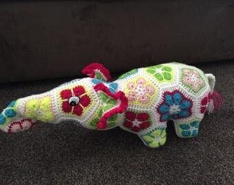 African Flower Elephant