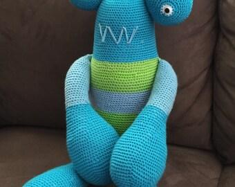 3 Eyed Crochet Monster