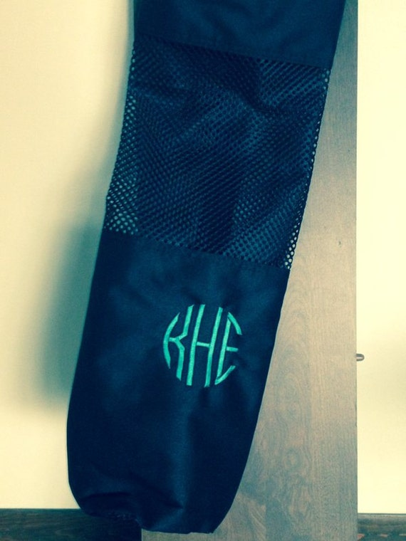 personalized yoga mat and bag by silvermooseshop on etsy