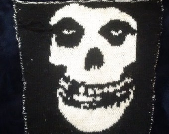 Hand Knit Misfits 'Crimson Ghost' Patch