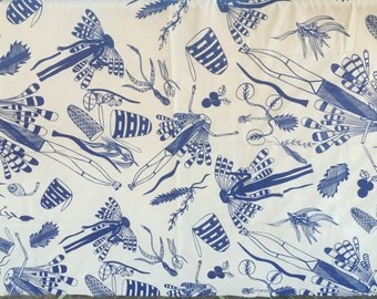 Fabric length Yingarna (Creation Mother) by Injalak Women Artists