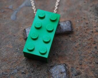 Dark Green Brick 2x4