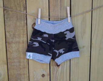 Camo Crazy Shorties