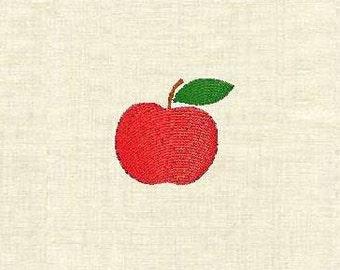 Machine embroidery designs apple