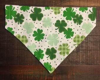Luck of the Irish Dog Bandana