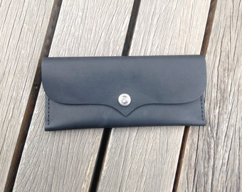 Long Handmade Leather Wallet