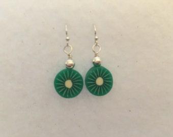 Sterling Lime Earrings