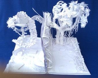 "Moments - ""Momentos"" - Paper Sculpture"