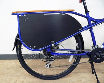 Wheelskirts for the Kona MinUte cargo bike