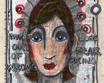 Original Woman Art - Creative Life