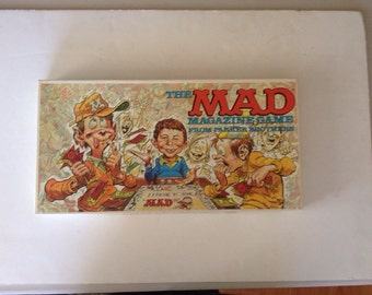 Vintage 1979 mad magazine game