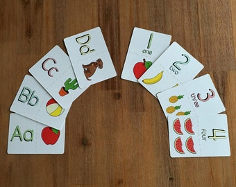 Alphabet and Number Flashcards