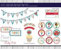 Little Einsteins Birthday Party Kit (printable)
