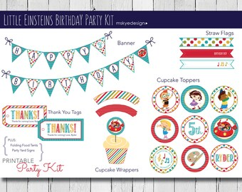 Little Einsteins Birthday Party Kit {Printable}