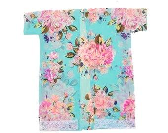 Spring fling kimono