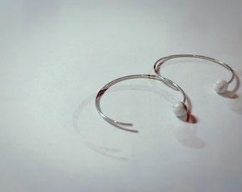 Marbelle handmade marble earrings