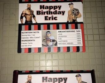 Candy Bar Wrapper, Wrestling