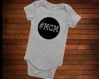 Man Crush Monday Onesie #MCM