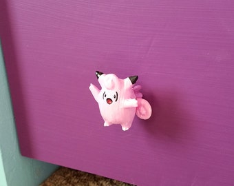 Clefable Pokemon Knob for Dressers, Drawers & Closets, Cabinets