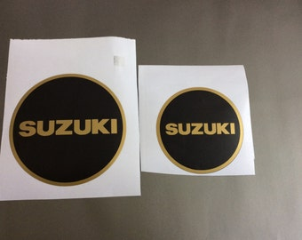 Suzuki Engine Decals