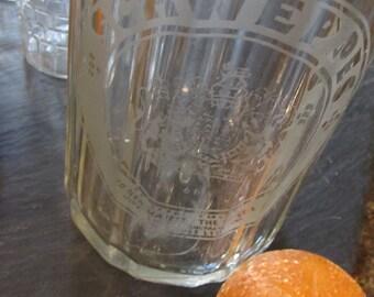 Vintage Schweppes Sparkling Water Seltzer Bottle, 1930s Bakelite Seltzer Bottle, Made in England