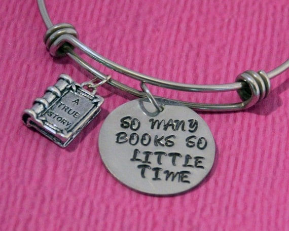 Wedding Gifts For Readers : Gifts for Readers Reader Gift Book Bracelet Book Jewelry