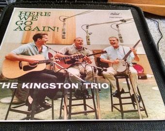 Kingston Trio 'Here We Go Again' Vintage Vinyl Record 78 RPM