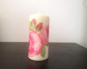 Candle decorated