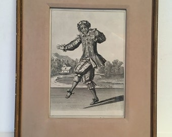 Copper engraving by Martin Engelbrecht (1667-1744)