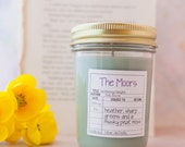 The Moors - Wuthering Heights Inspired Candle - Book Candle - Book Gift - Book Lover - Bookish