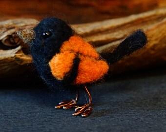 Needle felted Bird Cody