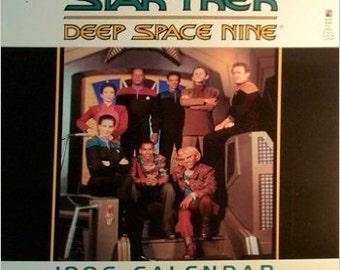 Star Trek: Deep Space Nine 1996 Calendar Sealed