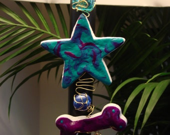 Star and Bone Dough Ornament