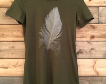 Feather T-Shirt/ Youth Size