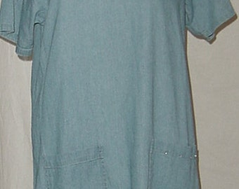 Bluejean Sundress/bathing suit cover up Lounge wear hip sassy country just fun