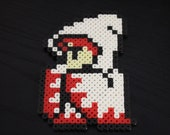 White Mage Perler Keychain or Magnet / Final Fantasy featured image