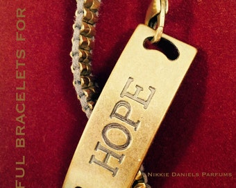 Hope - Inspirational Charm Bracelet for Woman