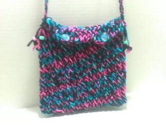 Loom Knitted Purse