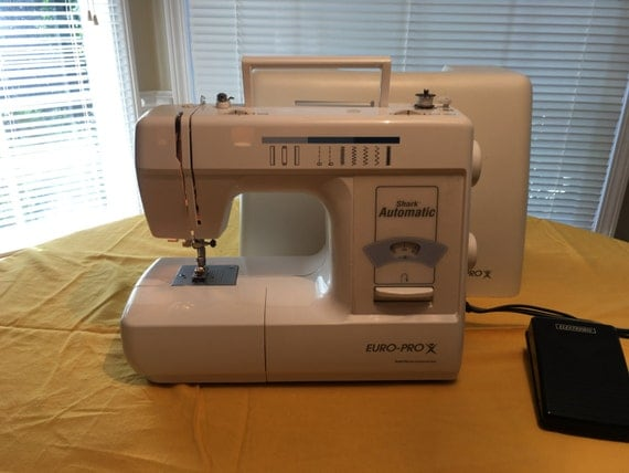 Euro pro shark 8260 portable household sewing machine for Euro pro craft n sew
