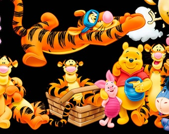 35 x winnie the pooh png files