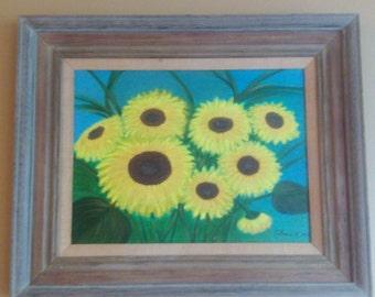 Sunflowers still life
